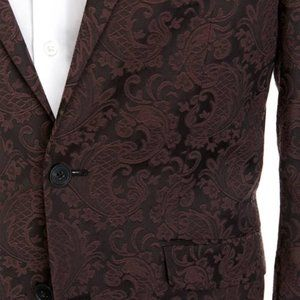 Kenneth Cole Reaction Suits & Blazers - NWT Kenneth Cole Slim-fit Paisley Dinner SportCoat